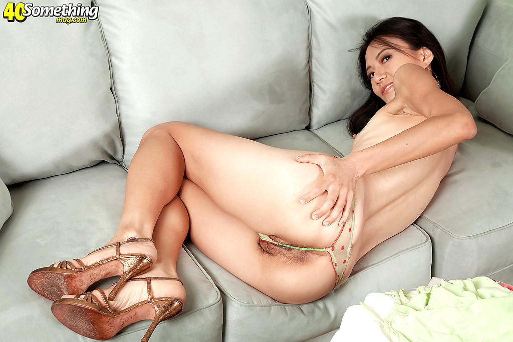 Her full Asian porn mag