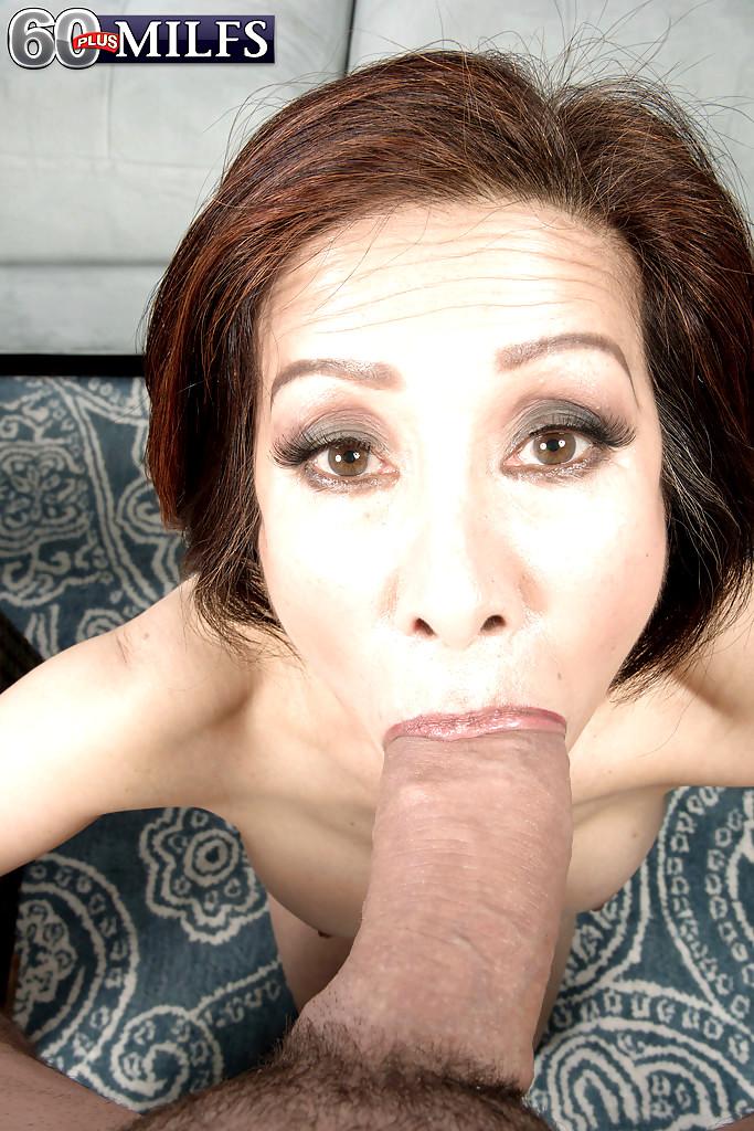 Hot curvy japanese milf erika pleasuring herself for orgasm 4