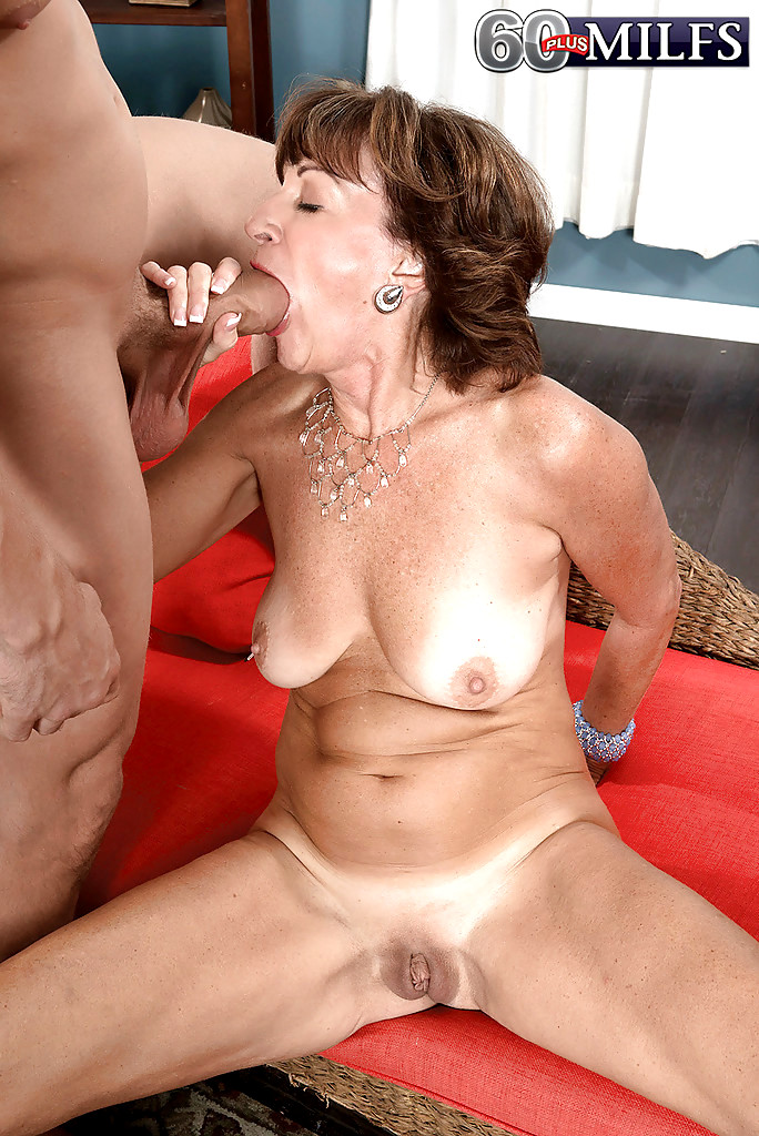 Granny kim swallows some big meat 8