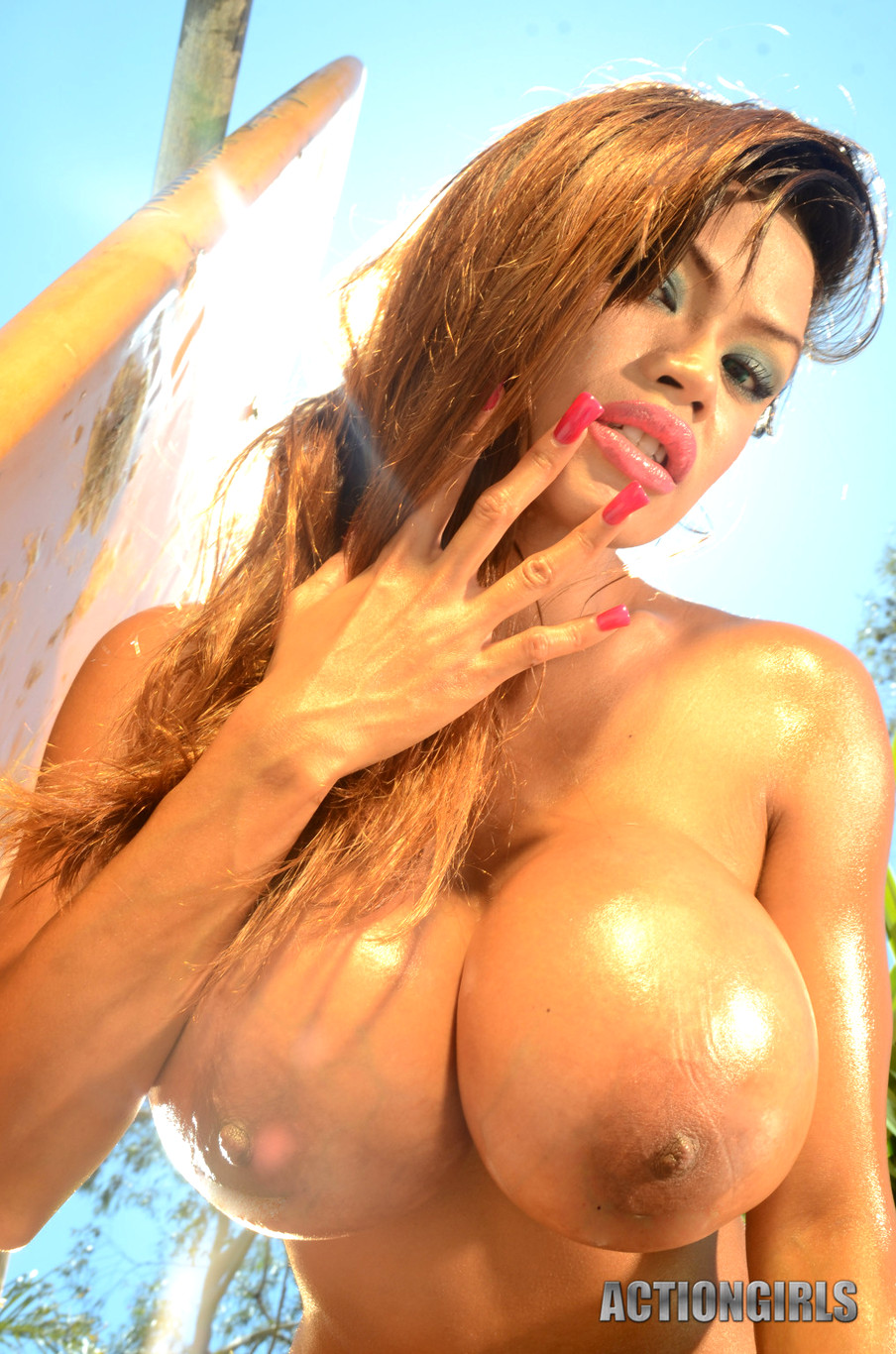 tits Action big girls with