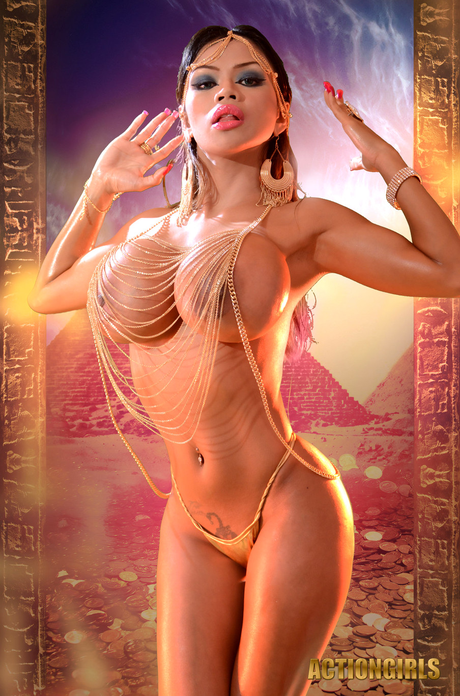 Porn egyptian cosplay
