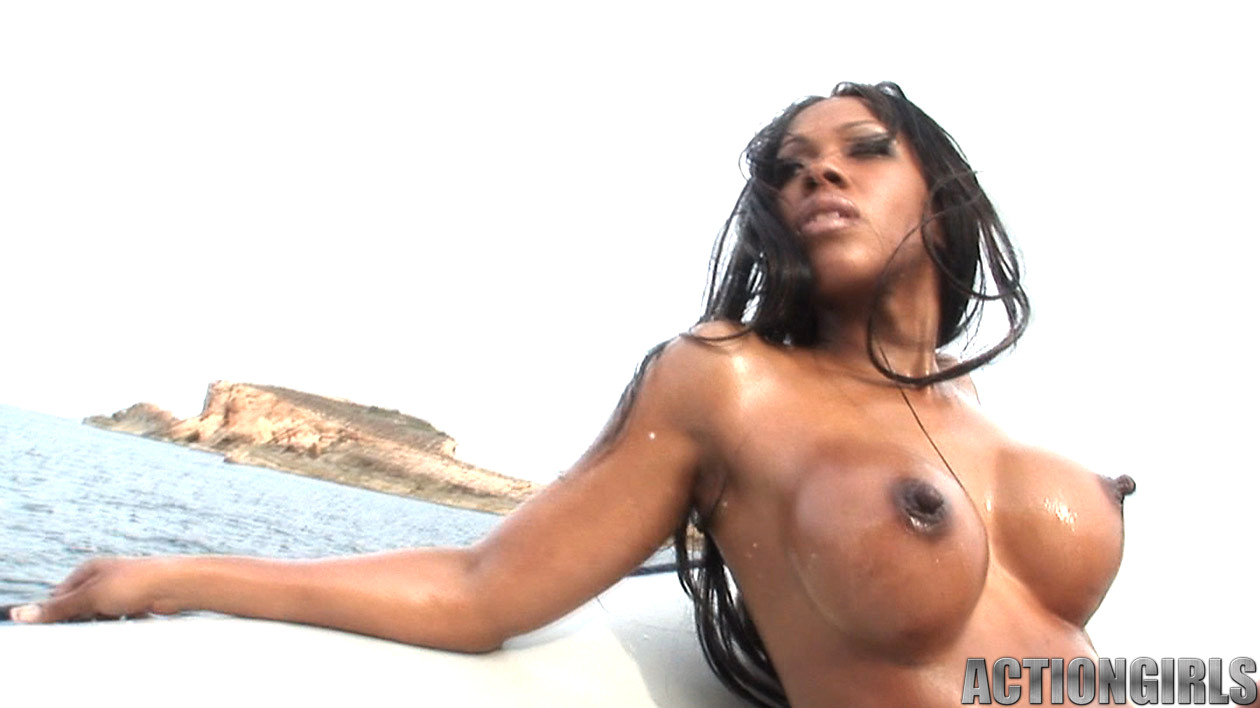 nude ebony action girls