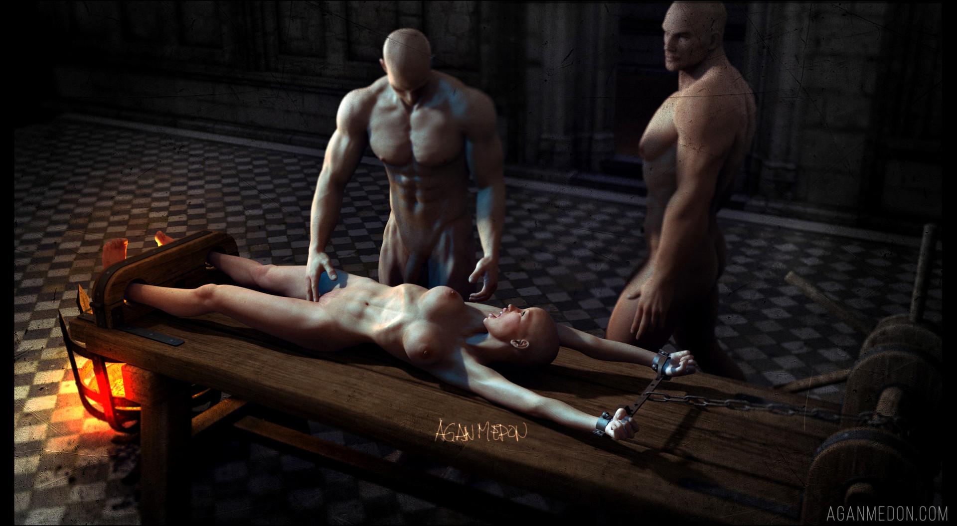 Panish inquisition women torture rack pics