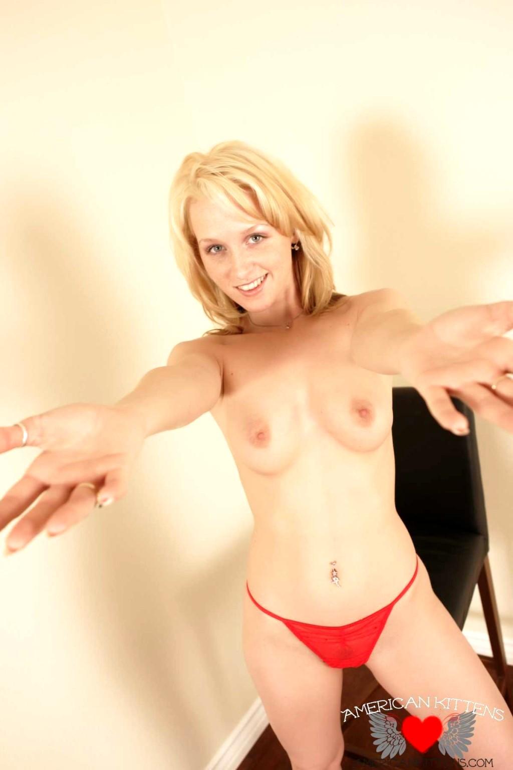 Jenny Star Red Panties Gif