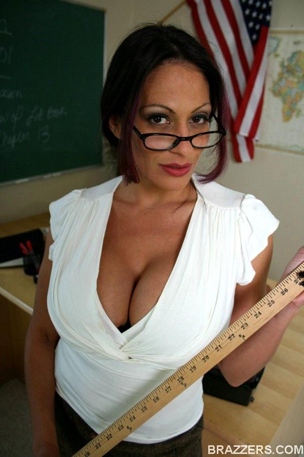 Big Tits At School Ava Lauren Enhanced Glasses Pornpartner