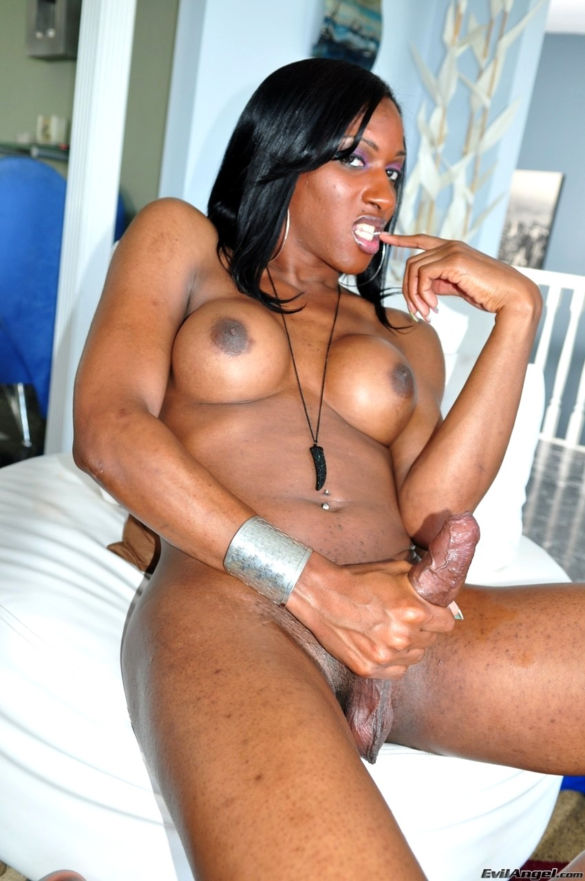 Ebony Step Sister Jerks Me Off