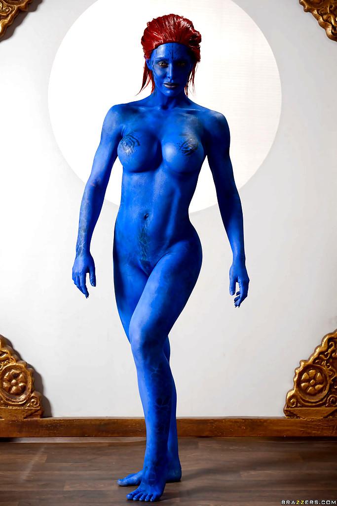 Mystique naked penis — photo 8