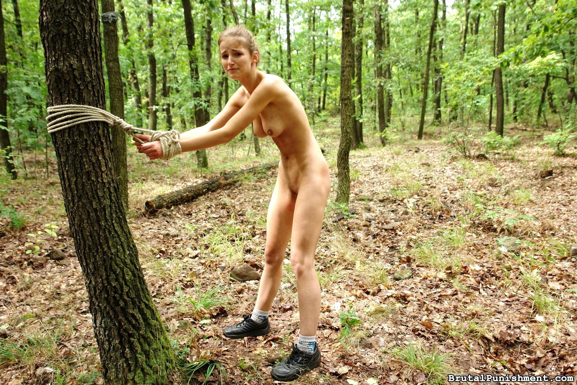 punished naked