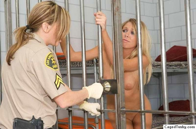 image Blonde cop interracial and gauge police