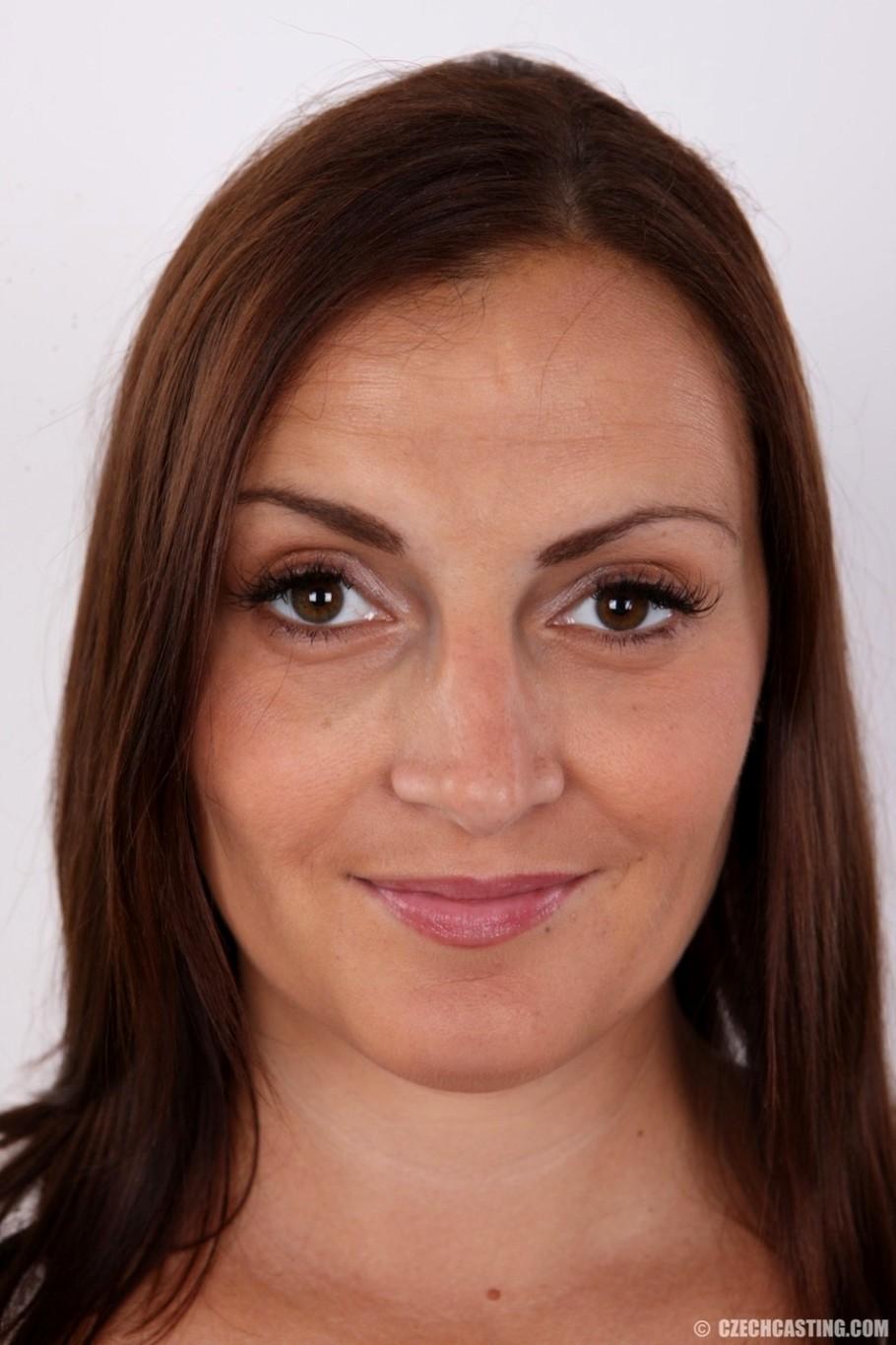 Czech Casting Czechcasting Model Deluxe Brunette Fotos Sex