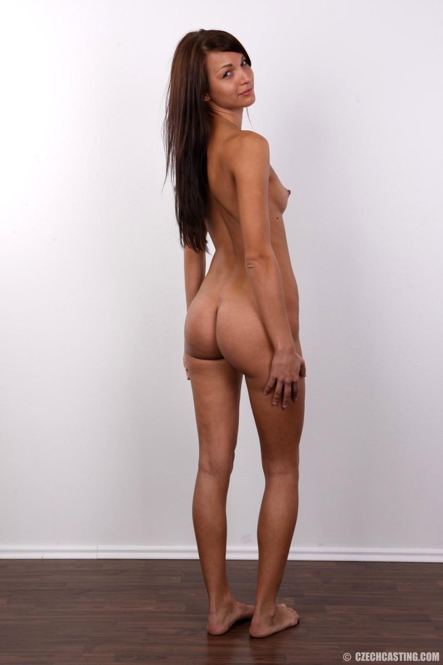Casting brunette czech