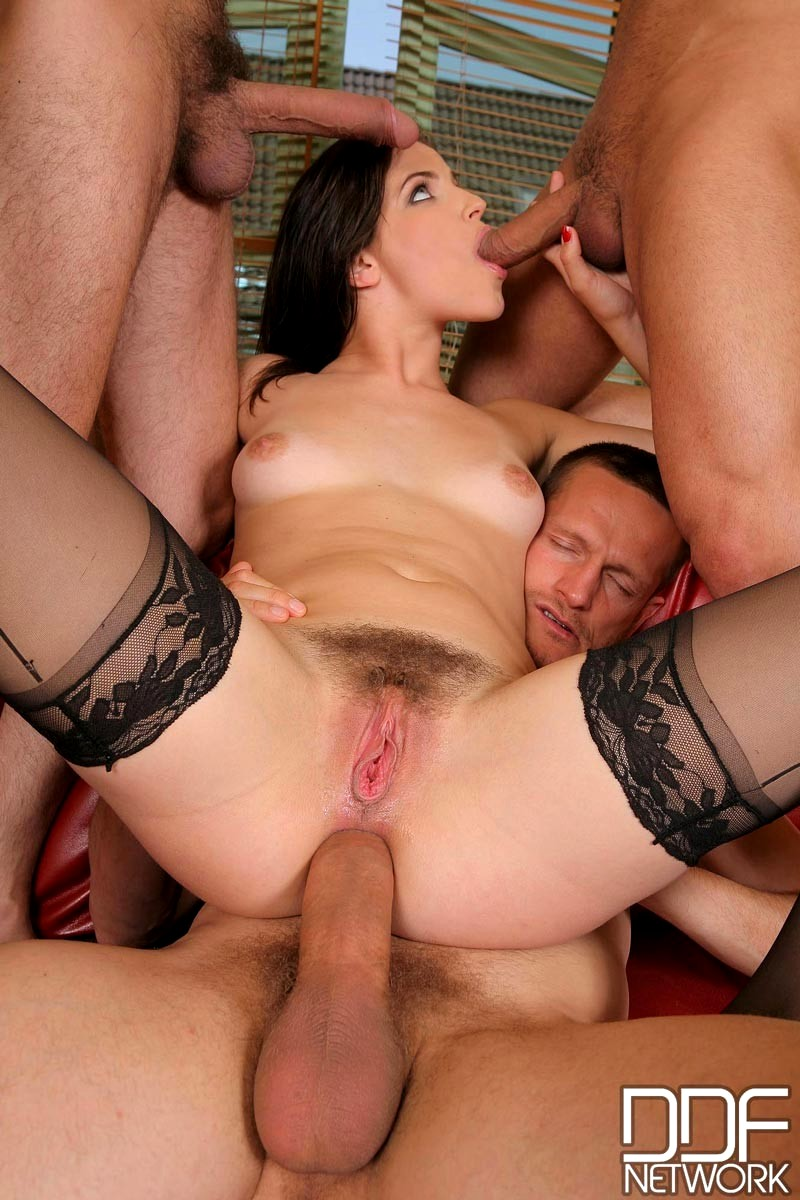 sex gang bang orgy free video