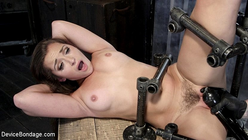 Not necessary using bondage devices to reach orgasm all clear