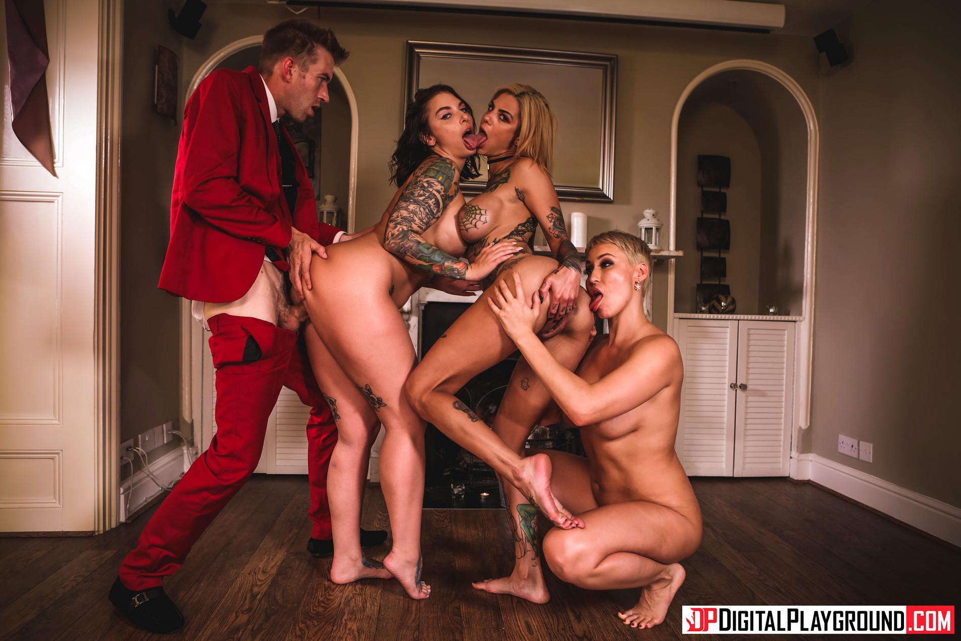 bonnie rotten group sex