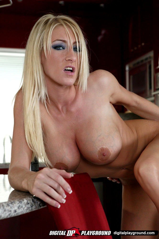 Busty blonde puma swede does kinky voyeur spycam fuck video