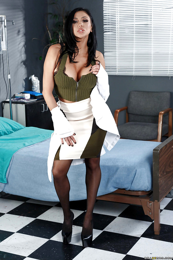 Doctor Adventures Audrey Bitoni Superhero Stockings Sex