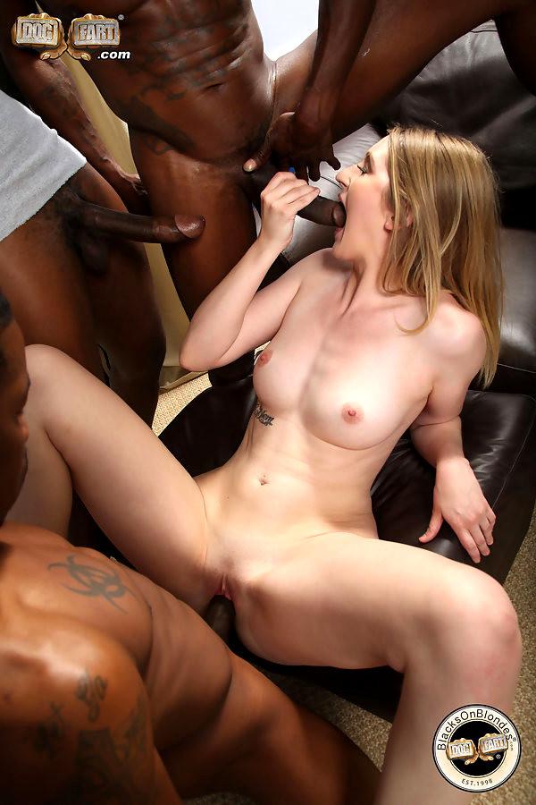 Interracial first date porn