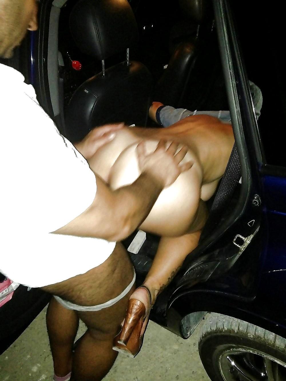 Car Sex Shoot By Infrared Camera Voyeur
