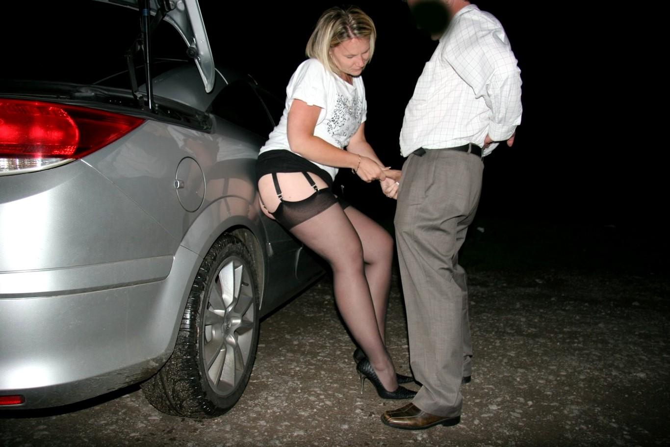 проститутка на машине
