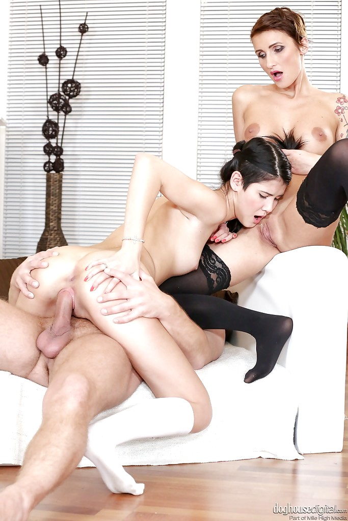 Young slut alexis adams is eager to suck and fuck cock in bed - 1 part 5