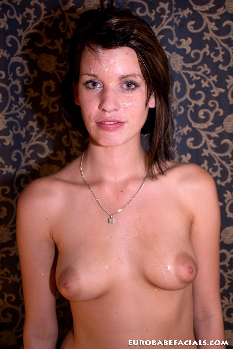 Eurobabefacials Angie Emerald Magical Teen Cum Facials -2181