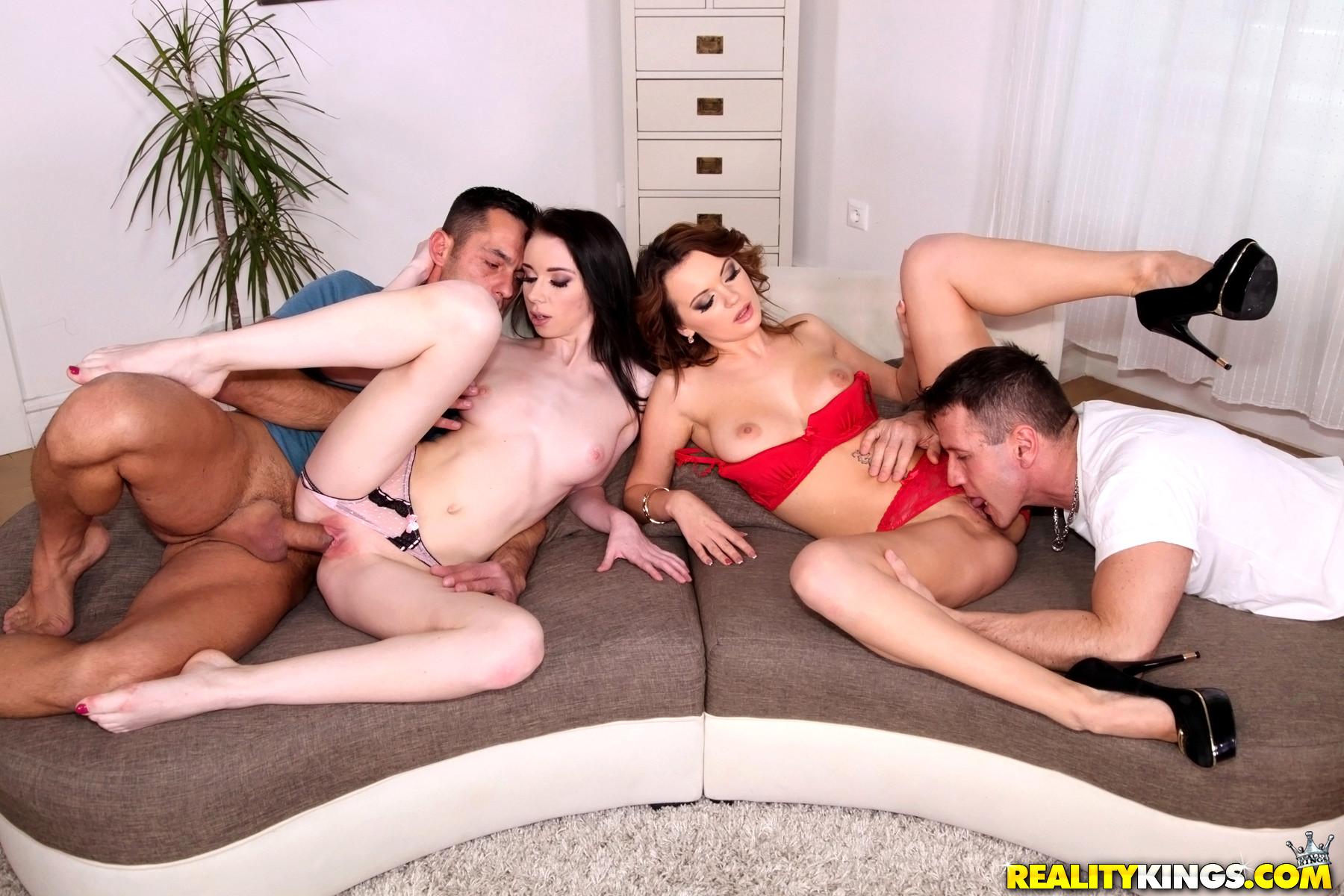 Euro sex parties foursome sex orgy
