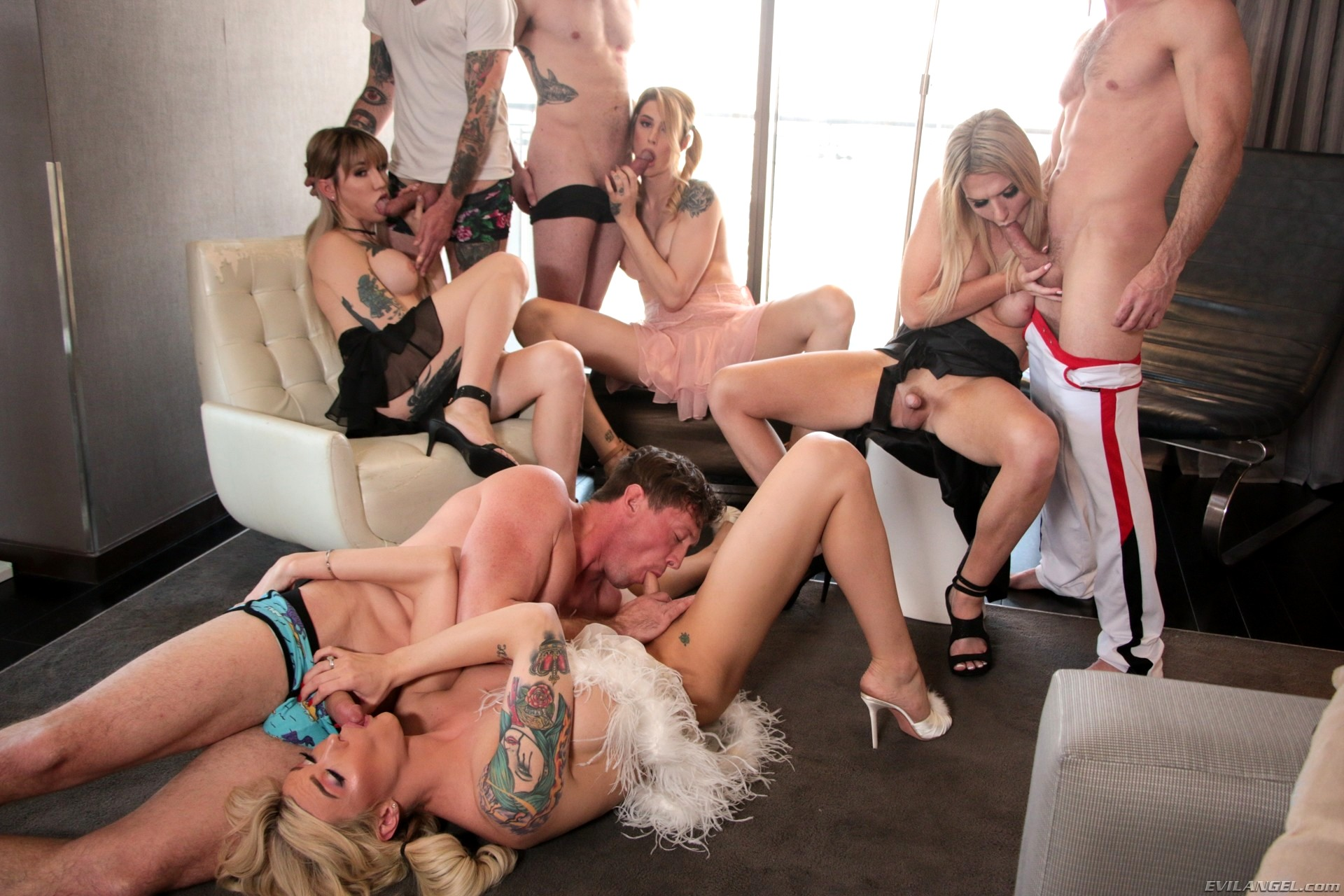 Shemale Orgy Images