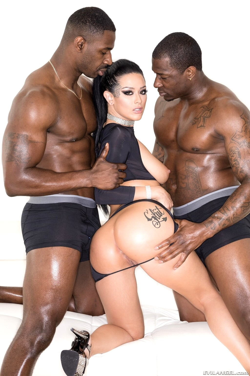 Young Russian Anal Threesome