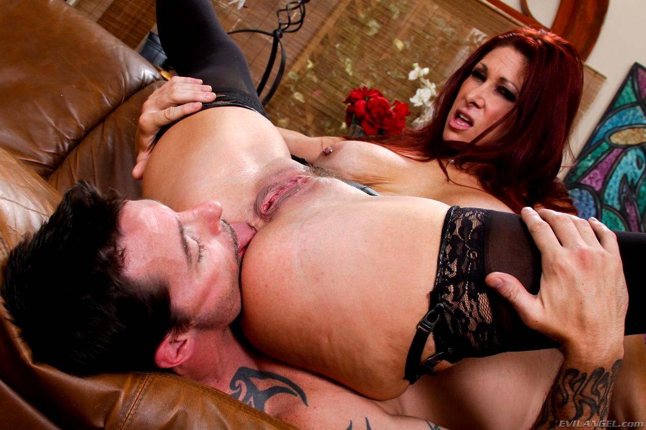 Fetish milf licks up cum and dribbles porn photo