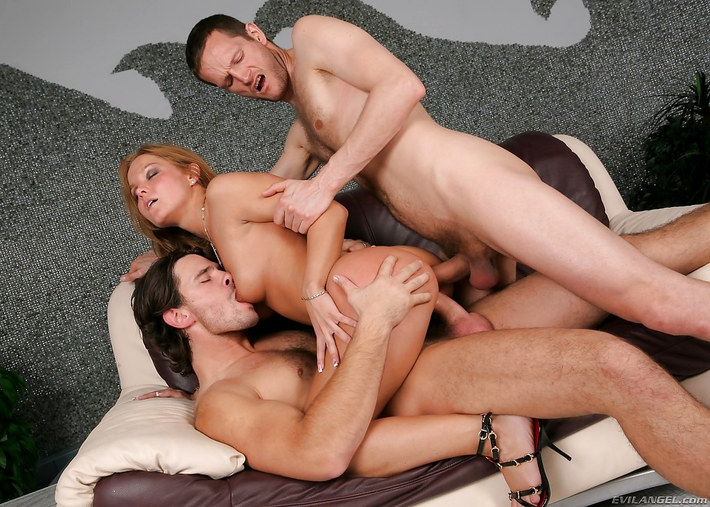 Alexa schiffer in a dp threesome