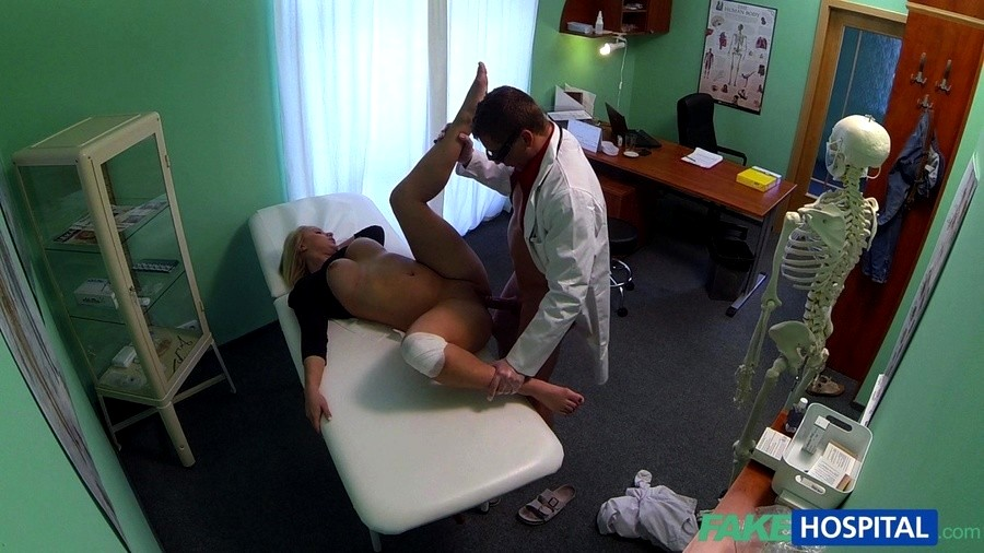 image Fakehospital doctors cock heals sexy squirting blondes