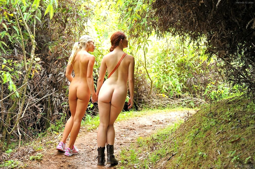 Outdoor Bend Forward Ass Nude Gals 1