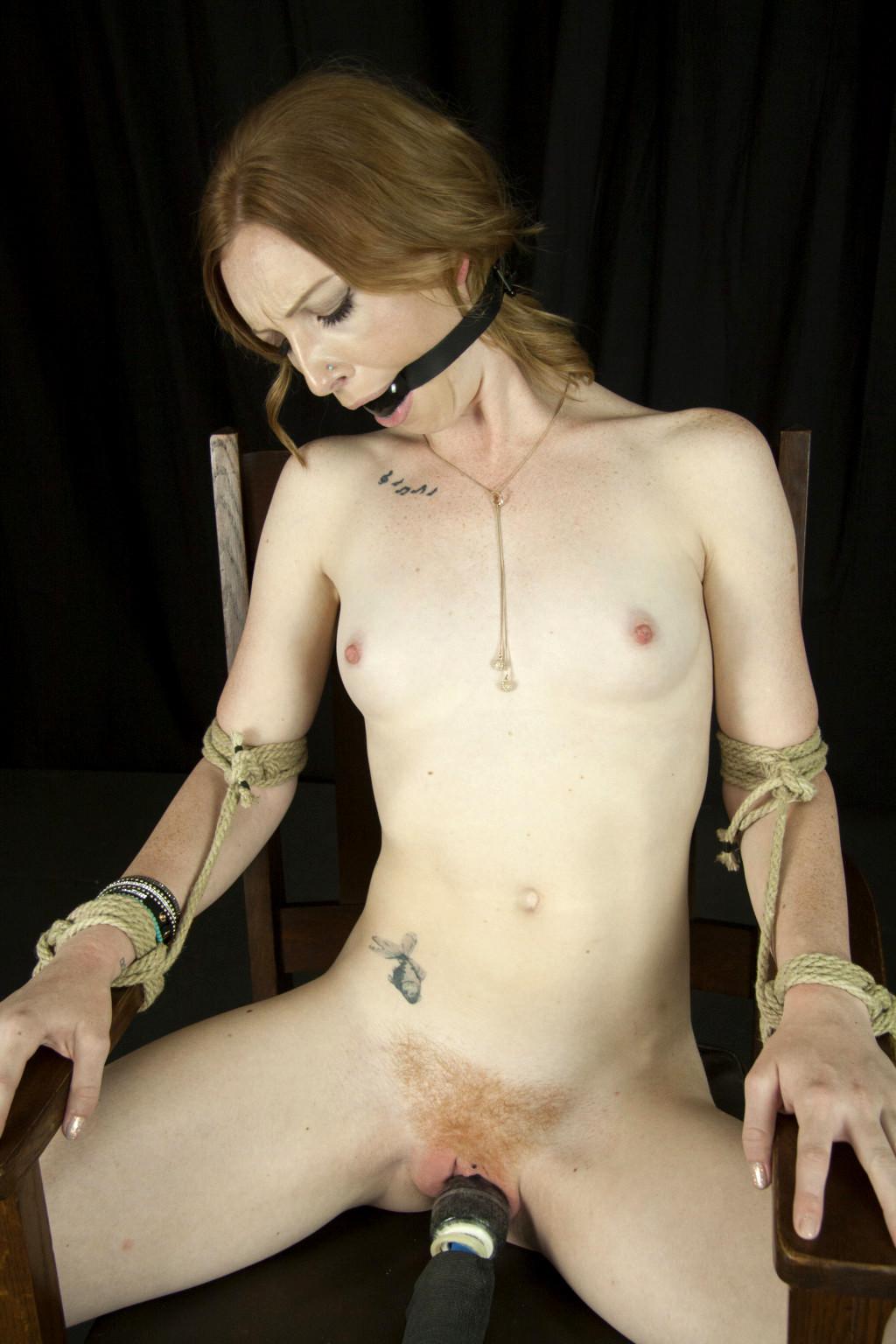 Slave girl training bondage forced orgasm