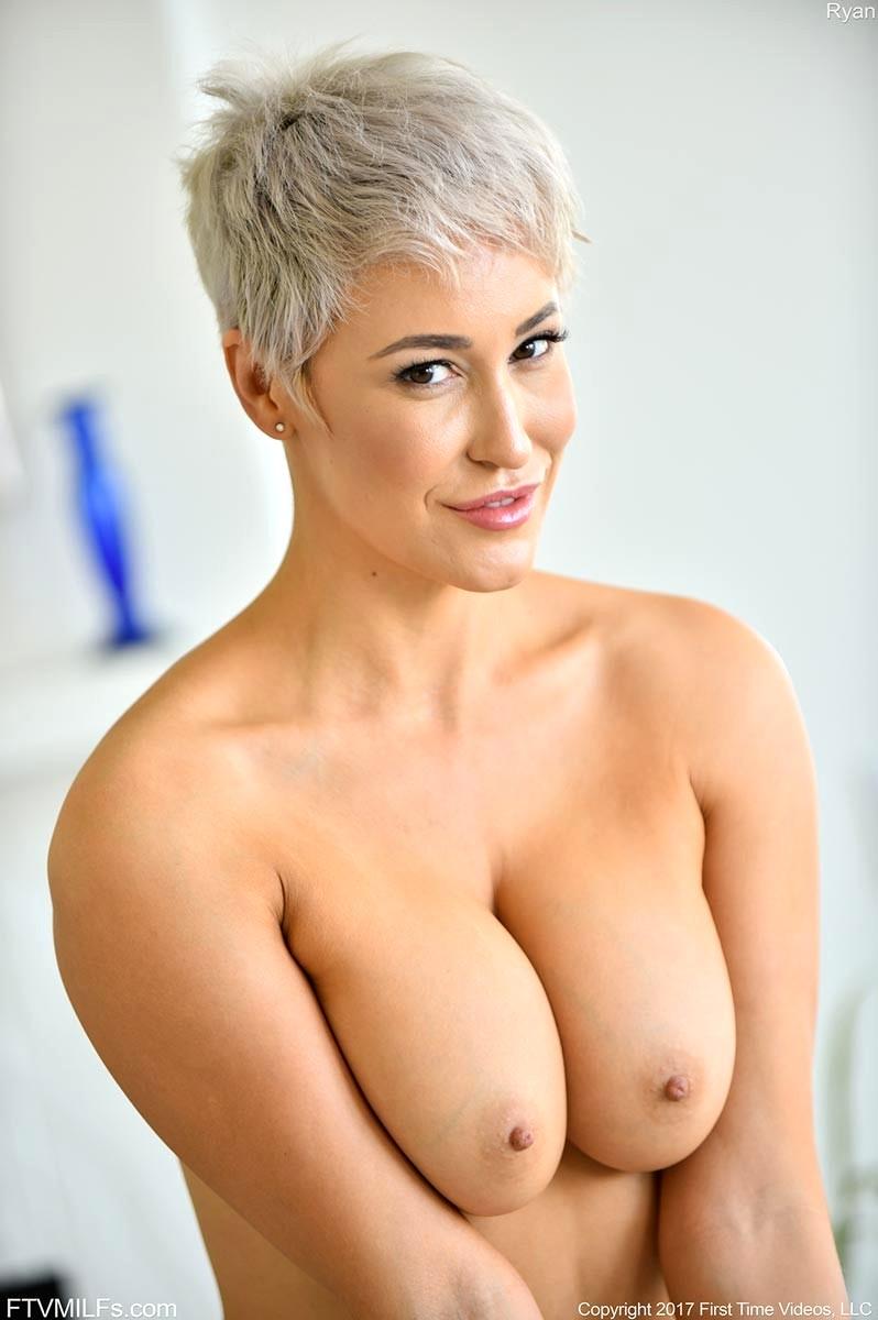 Short Hair Blonde Milf Anal