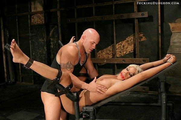 Bridgette b bondage