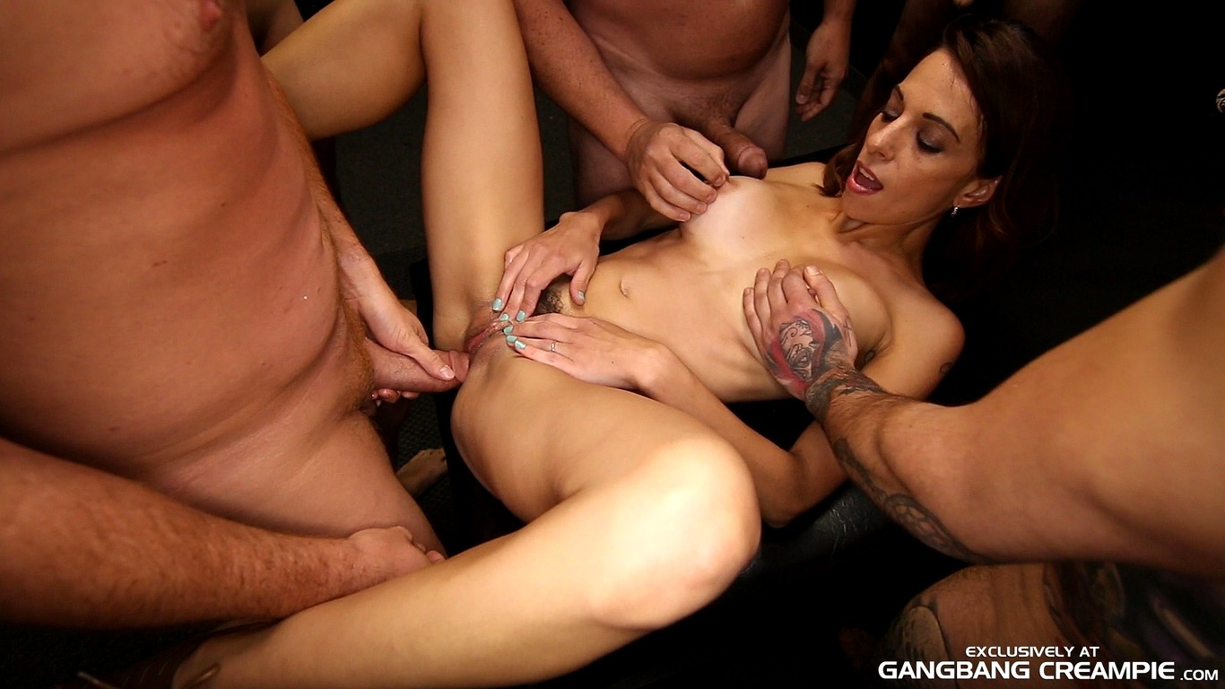 Gangbang creampie galleries
