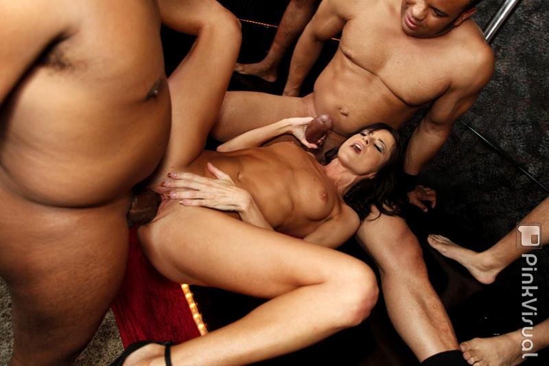 Pressley carter and devon lee tries interracial sex 7