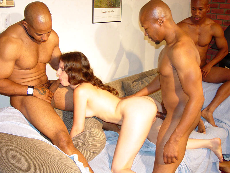 Kylie ireland interracial gang bang