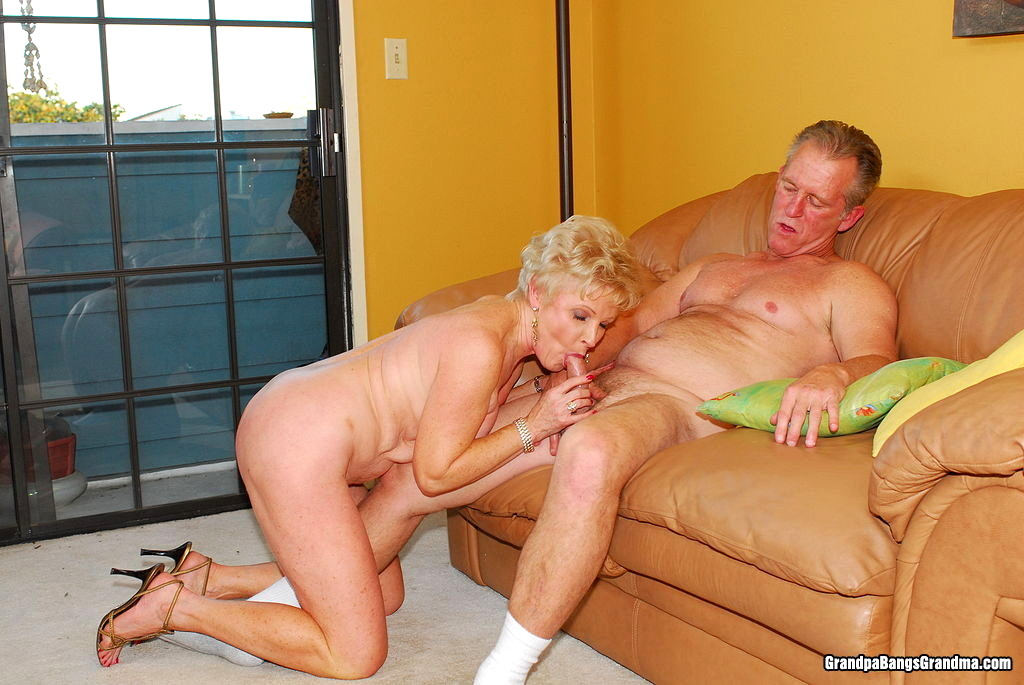 Grandpa and his maid fucked me in night