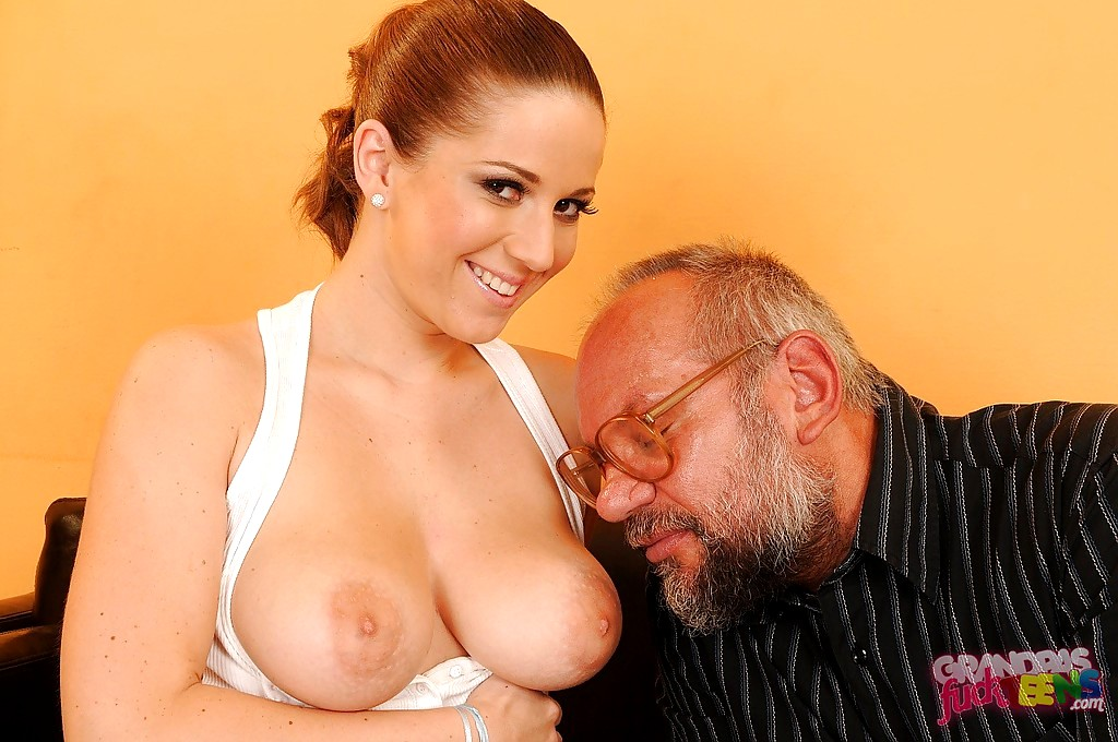 Nicole Ray Is Eaten Out And Fucked By An Older Man