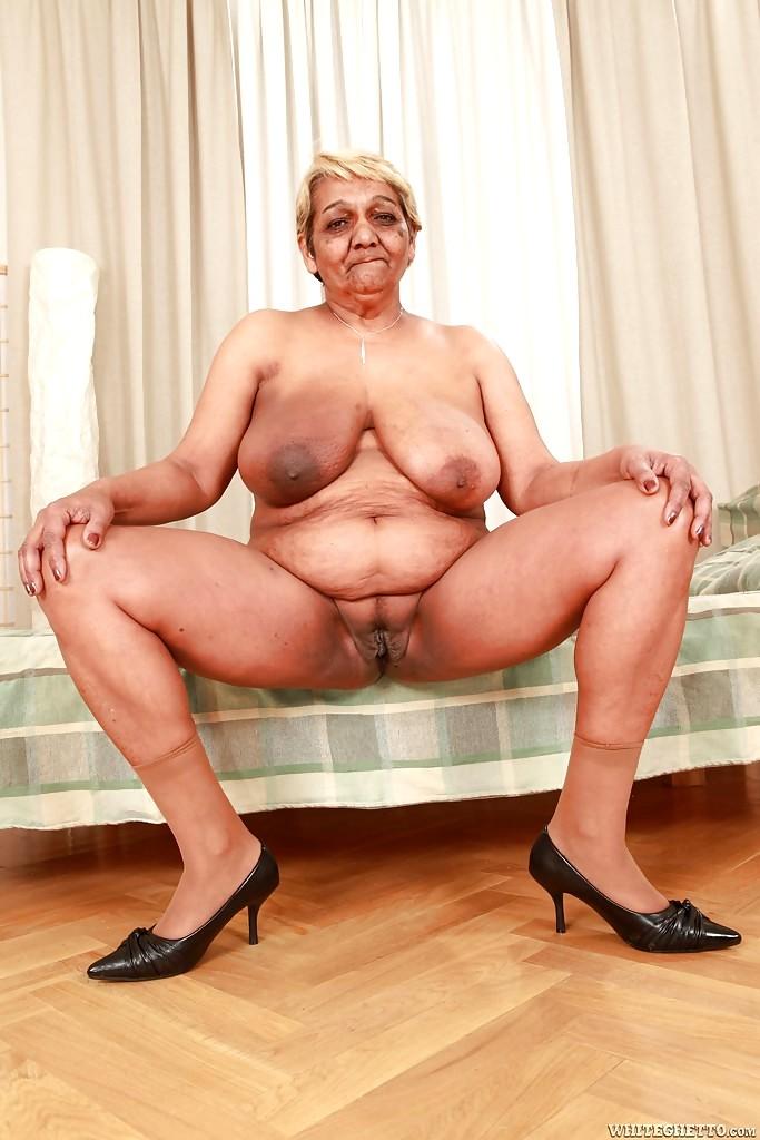 Стриптиз толстых старушек #13