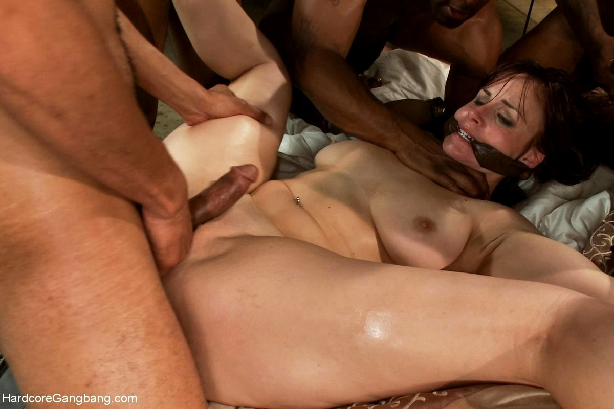 Remarkable, rough interracial gangbang galleries opinion
