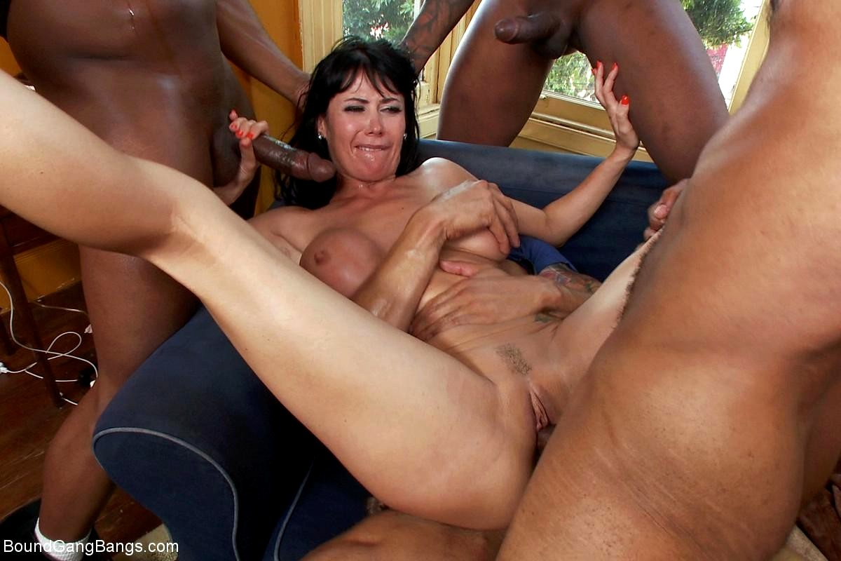 Gang bang free sex video