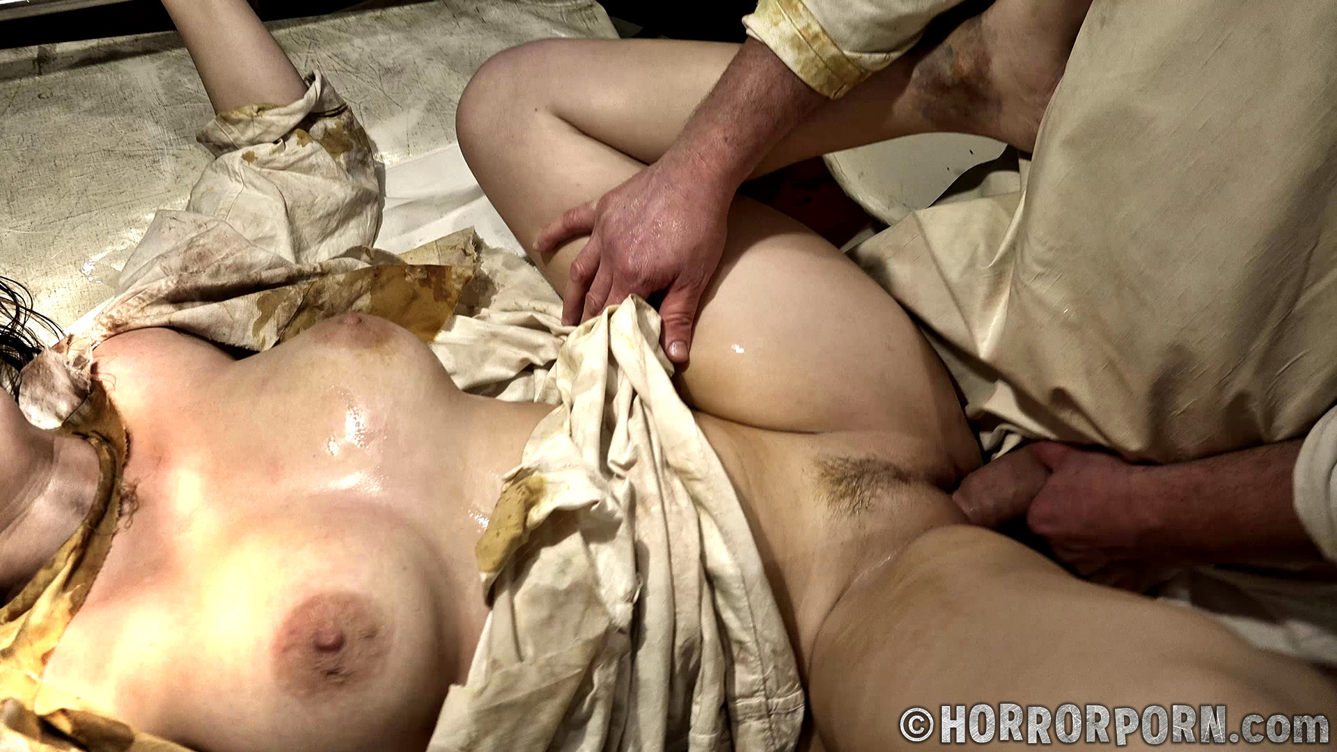 Sleeping young boobs nude with rape scene parts nylon used