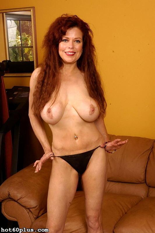 Photos nude sexy mature redhead women