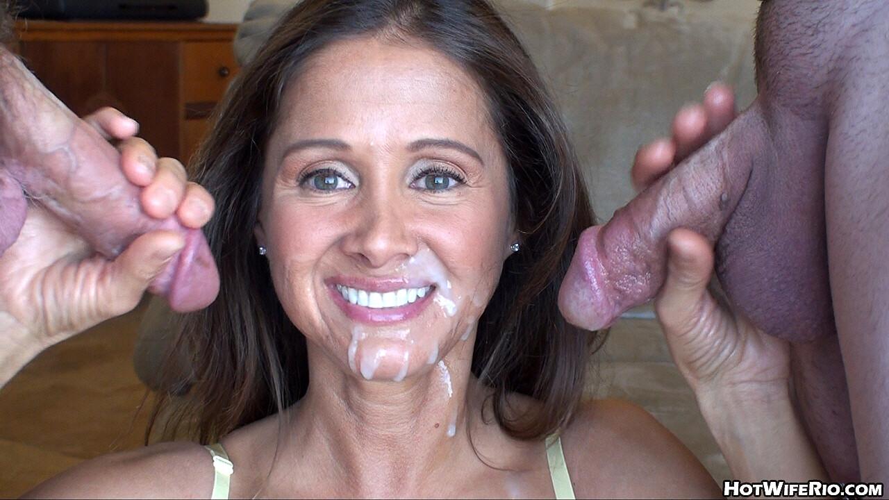 Sexy latina sativa rose fucked by huge cock for cum facial reward a hardcore