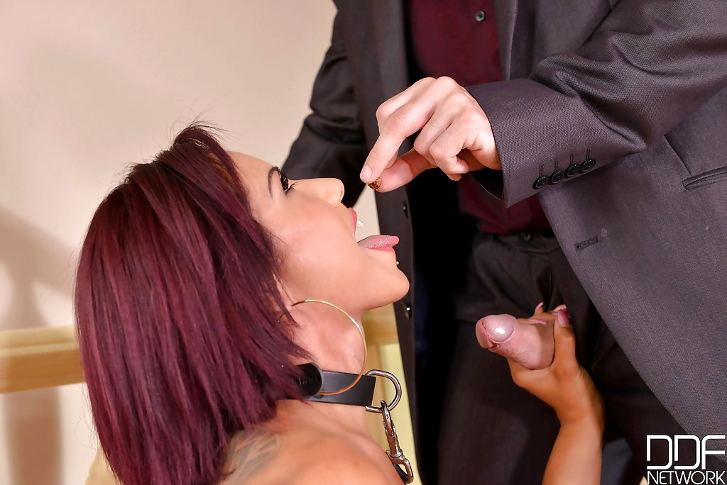Slave pays master to totally use him
