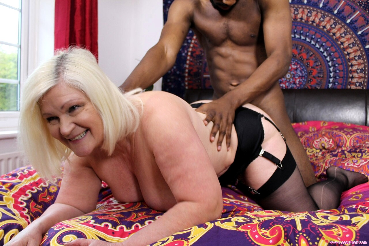 Lacey Starr Needs To Calm Down With Black Dick By Older Women Club