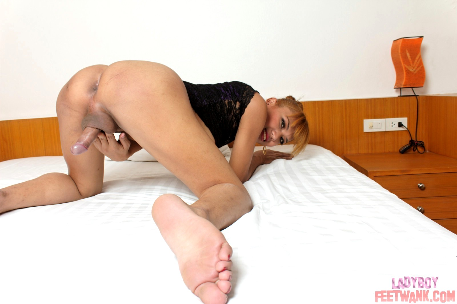 Love ladyboy foot anal pic