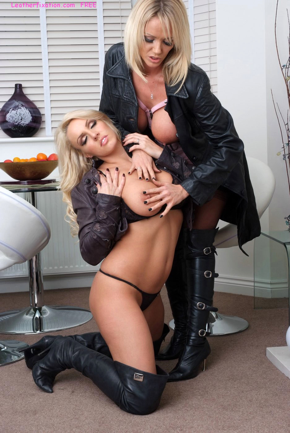 Leather Fixation Lucy Zara Dannii Harwood Summers Boots -6641